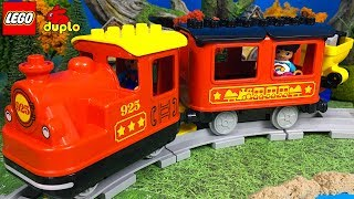 LEGO DUPLO TREN MOTORIZADO A VAPOR - LEGO STEAM TRAIN