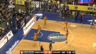 Alba Berlin VS Maccabi Tel Aviv 69:84 Euroleague 2014-15 Highlights
