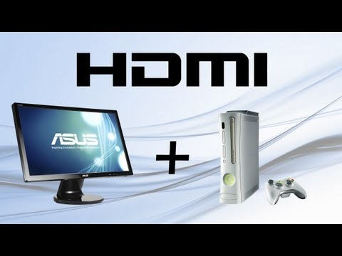 How to connect XBOX 360 with HDMI and PC with DVI to PC monitor.