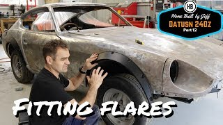 Fitting wheel arch flares - Home Built Datsun 240z part 12