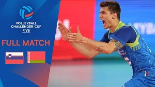 Slovenia vs Belarus | Full Match | 2019 FIVB Men's Volleyball Challenger Cup