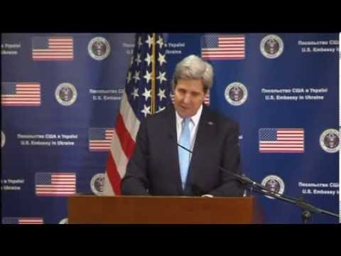 "John Kerry Condemned Russia's ""act of aggression"""
