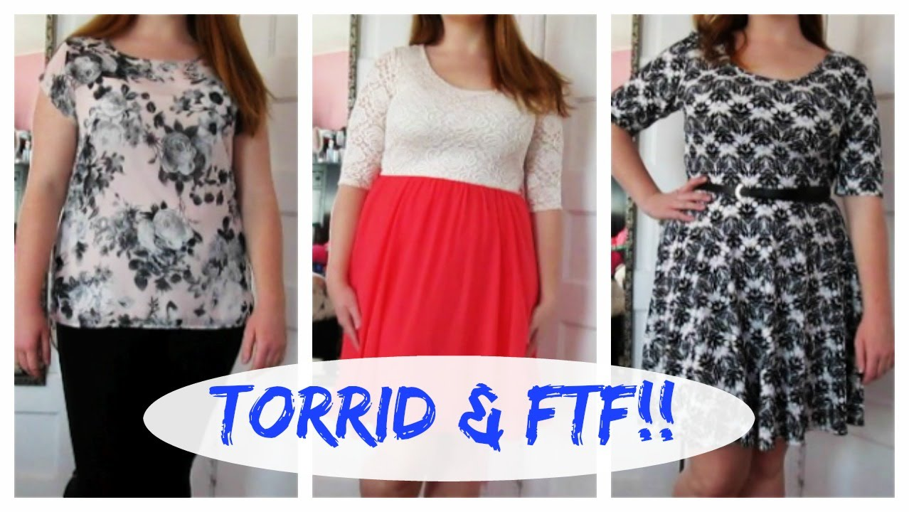 Fashion To Figure Try On Torrid amp Fashion To Figure