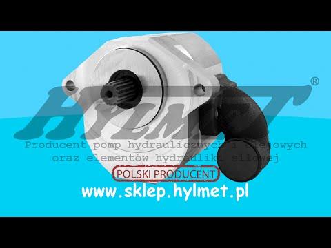 URSUS 1234 C 385 wymiana pompy hydraulicznej 31 l/min HYLMET