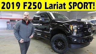 2019 Ford F250 Lariat Sport Exterior & Interior Walkaround