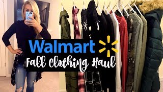 WALMART HAUL & TRY ON | CUTE CHEAP CLOTHES FOR FALL