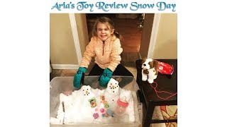 Aria's Toy Review - Snow Day Blind Box - Snow Block Suprise