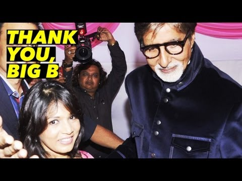 Amitabh Bachchan's Surprise For Fan!