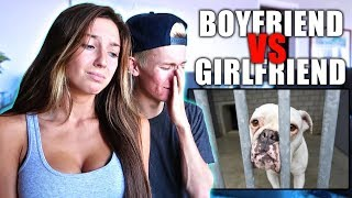 TRY NOT TO CRY CHALLENGE! **Boyfriend VS Girlfriend**