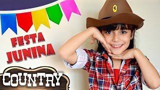 LOOK COUNTRY ★ Arrume-se comigo para a FESTA JUNINA: Roupa, Make up e Cabelo  (Get Ready with me)