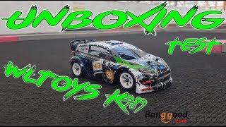 Wltoys K989 1/28 RC Rally Car Unboxing/Test | HD+ | Deutsch