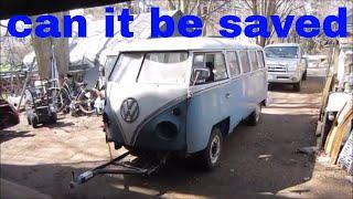 barn find vw bus is it worth restoring?