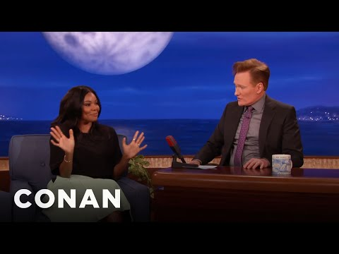 Gabrielle Union Is Pro-Masturbation  - CONAN on TBS