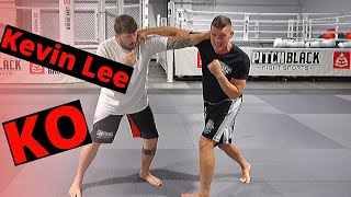 UFC 244 | Kevin Lee's HEAD KICK KO | Stephen Wonderboy Thompson