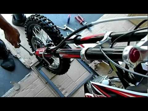 SSR SR125TR 125cc PIT BIKE DIRT BIKE ASSEMBLY and MAINTENANCE VIDEOS PIT BIKES FOR SALE
