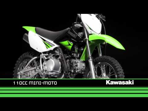 Kawasaki KLX110 2010 Video