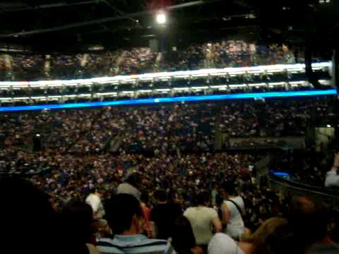 Block 101 Row r o2 Arena View of o2 Arena From Block
