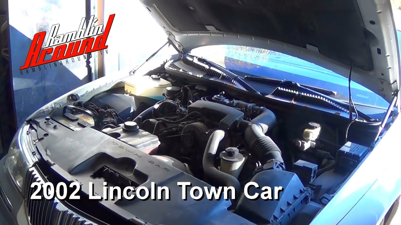 changing spark plugs and road test lincoln town car youtube. Black Bedroom Furniture Sets. Home Design Ideas
