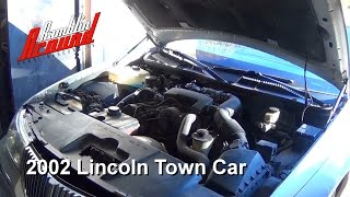 Changing Spark Plugs and Road Test Lincoln Town Car