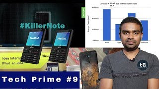 Jio Single Sim, Jio Slow, Lenovo K7, Vodaphone-Idea Merge, Nokia 8 Launch, Tech Prime #09