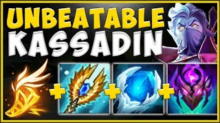 STOP LOSING GAMES! NEW TANK KASSADIN BUILD IS 100% BROKEN! KASSADIN TOP GAMEPLAY! League of Legends