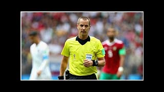 World Cup 2018: FIFA denies American ref asked for Cristiano Ronaldo's shirt
