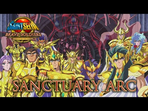 Saint Seiya Brave Soldiers - PS3 - Sanctuary Arc (Trailer)