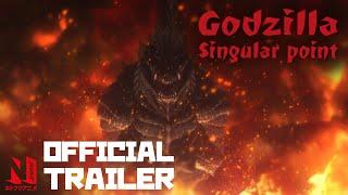 Godzilla Singular Point   Official Trailer   Netflix Anime
