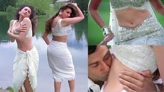 Karishma kapoor navel kiss & hot assets