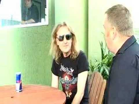 Judas Priest - KK Downing interviewed at Download 2008