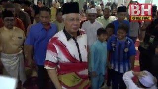 PM bertemu penduduk Kampung Pinang Jawa
