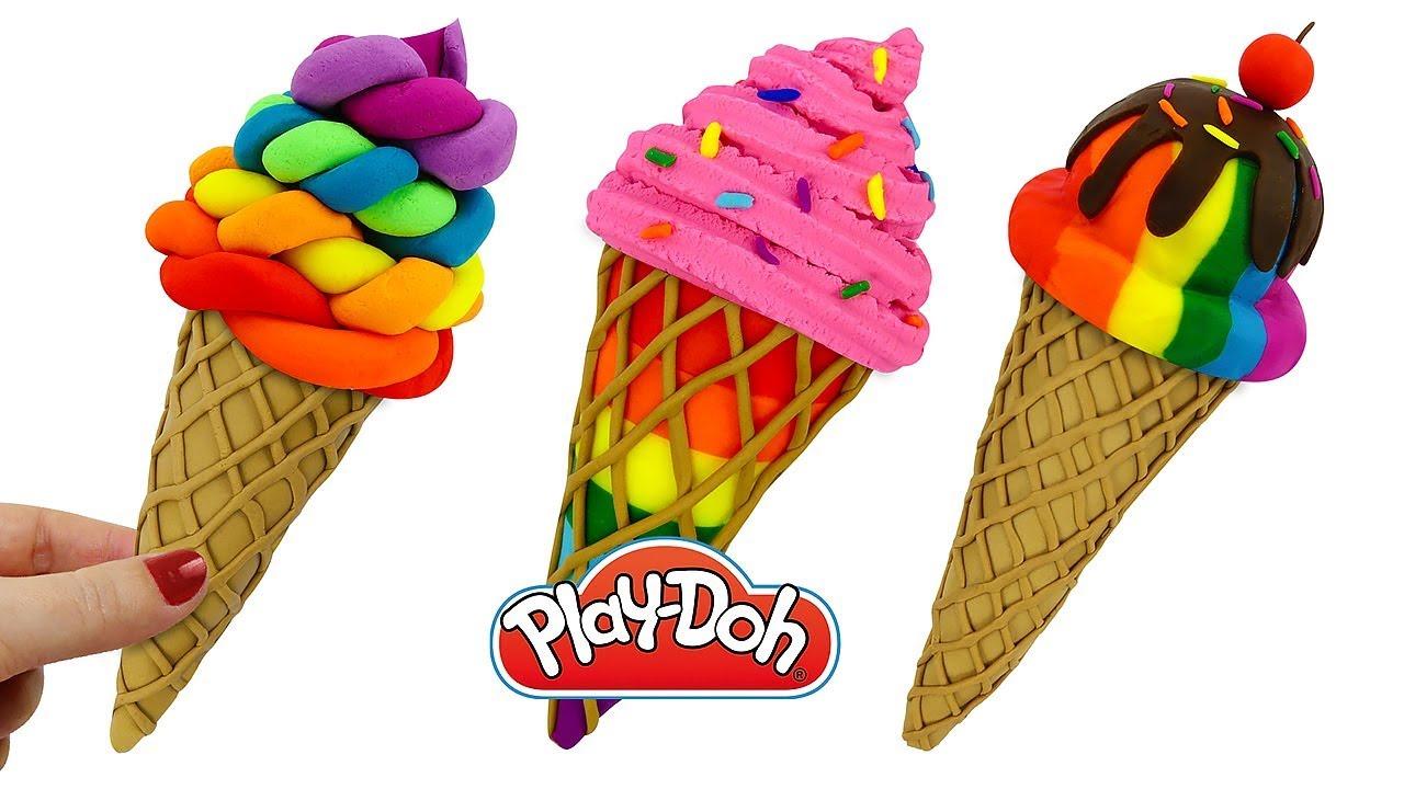 Поделки из пластилина мороженое 15