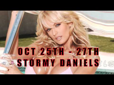 STORMY DANIELS live at Larry Flynt