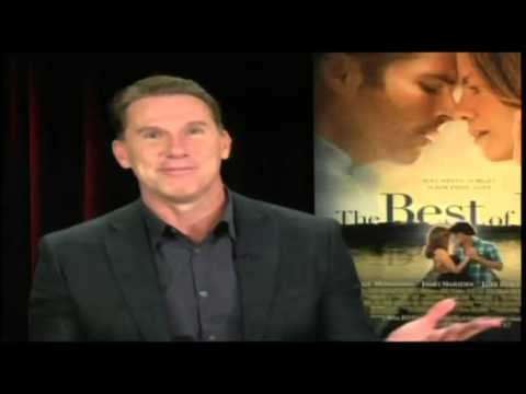 "Nicholas Sparks Talks About ""The Best Of Me"""