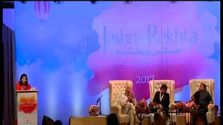 Jashn e rekhta 17 feb 2017 Gulzar Dehlvi and Janab Amjad Ali Khan Sahab Full Speech