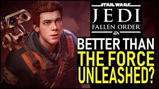 I played the FALLEN ORDER campaign... is it BETTER than THE FORCE UNLEASHED?  | Star Wars Gaming