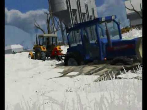 Landwirtschafts Simulator 2011 Snow Mod + Snow Pack by Badziu