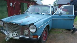 Volvo 164 - First start in 30 years