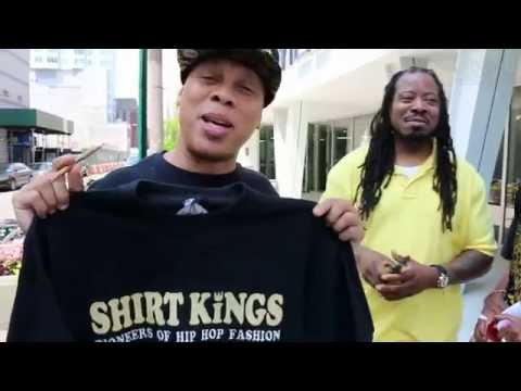 Shirt Kings and Hakim Green with DJandMCs DaGod Divine for #Word2HipHop