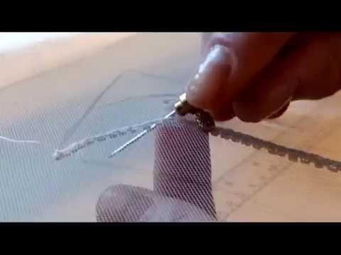 Люневильская вышивка. Luneville embroidery.TAMBOUR BEADING. TАМБУРНЫЙ ШОВ С БИСЕРОМ
