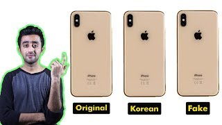 Korean iPhone vs Original iPhone vs Clone iPhone ( Fake ) - How to Find Difference ??