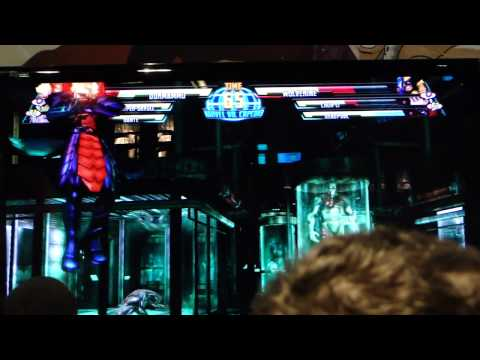 NYCC 2010 - MvC3 King of the Hill footage