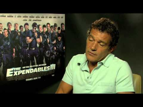 The Expendables 3 - Antonio Banderas Interview