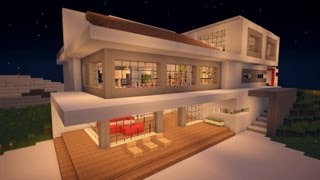 Play minecraft modern house 9 modernes haus hd for Minecraft modernes haus download 1 7 2