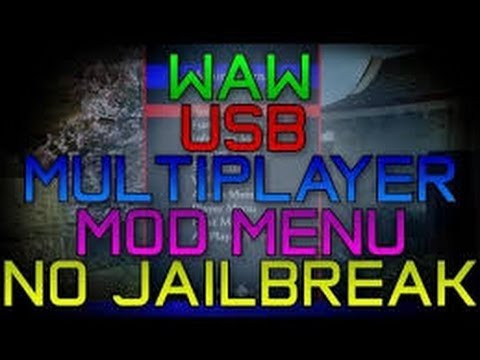 HOW TO HOST ON WAW   WAW MOD MENU TUTORIAL NO JAILBREAK [PS3]