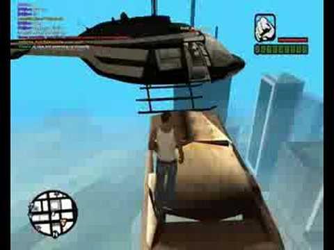 GTA:SA MP-Ucieczka Helikopterem