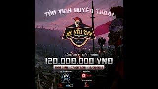 [Trực tiếp AOE Bé Yêu Cup 2019] GameTV vs Sài Gòn New