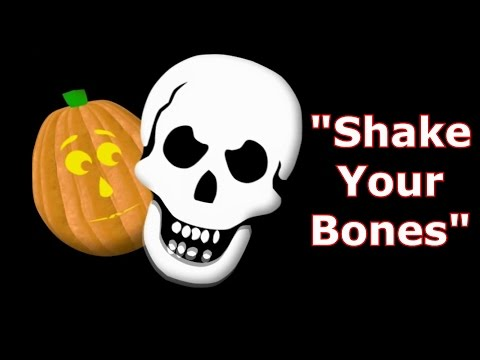Shake Your Bones - Singing Pumpkins Halloween light show 2011