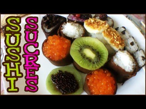 MES SUSHI SUCRÉS ! BONUS de ma recette de sushi [Vlog de Loka #63]