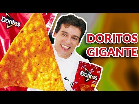 DORITOS GIGANTE - TENTEI FAZER - SERÁ QUE DEU CERTO? thumbnail